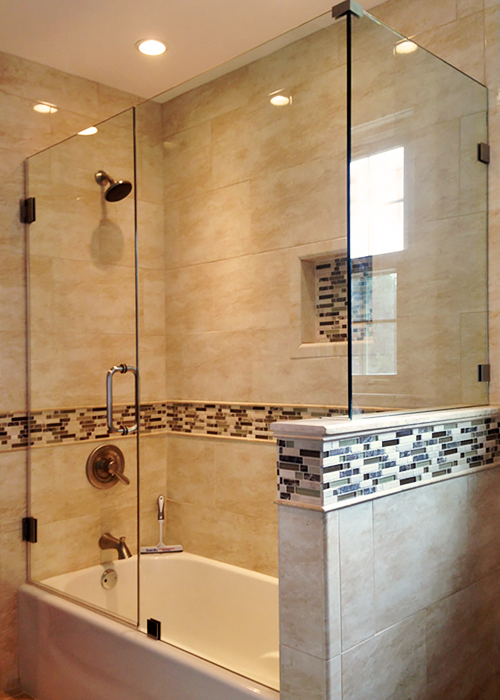door design doors long for island bathtub on with bathroom shower