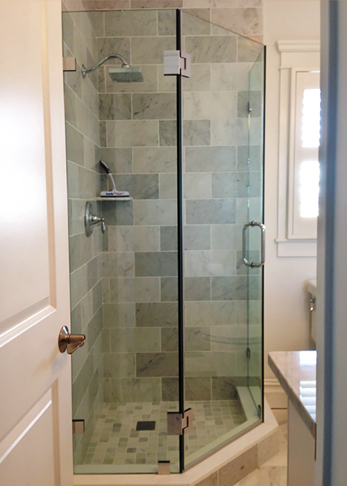 Neo-Angle Shower Doors (Corner Shower) - Manalapan, NJ ...